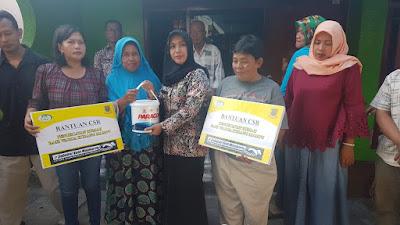 Bantu Pengecatan Gratis 30 Rumah Warga, Ning Ita : Terinspirasi Saat Blusukan PSN