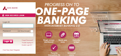 Axis Bank Netbanking Login Internet Banking