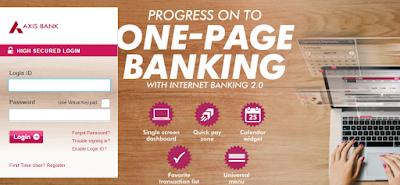 Axis Bank Netbanking Login Internet Banking