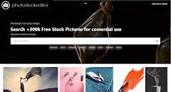 PhotoStockEditor 免費圖庫 30 萬張可商用高清圖片,提供線上編輯器