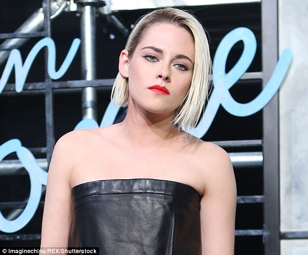 Kristen Stewart wears edgy leather dress at Chanel event in Beijing