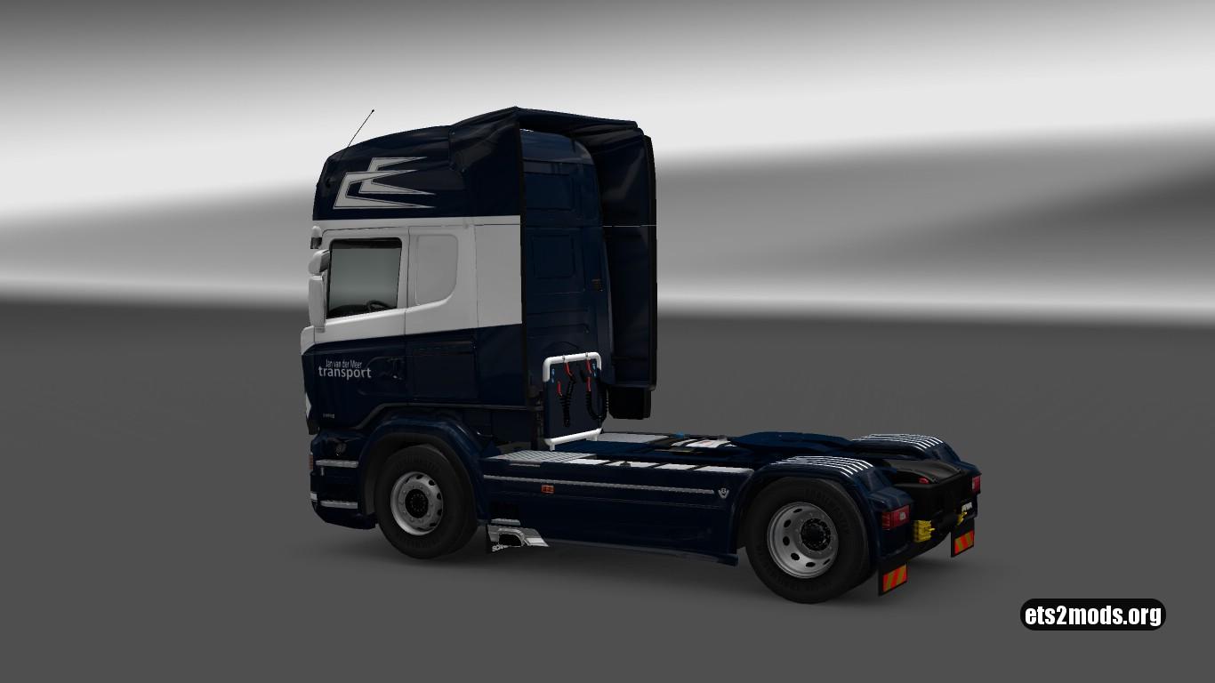 Jan van der Meer Transport Skin for Scania RJL