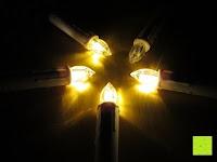 gelb: Yorbay® LED Weihnachtskerzen RGB/Warmweiß mit Fernbedienung mit Timerfunktion 10-100stk (20)