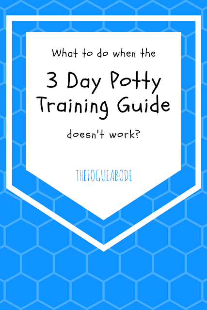 what to do when the 3 day potty training guide doesn't work