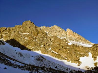 Vistas al Gra de Fajol Gran nevado desde Ulldeter.