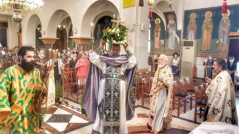 Εορτασμός της Παγκοσμίου Υψώσεως του Τιμίου Σταυρού στις Φέρες