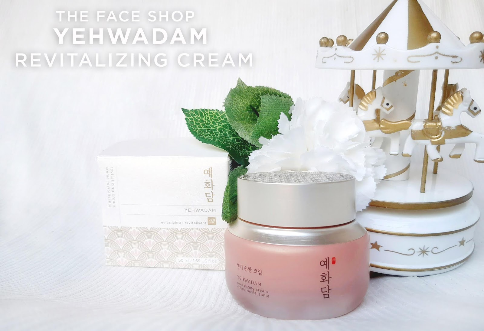 yehwadam revitalizing cream review