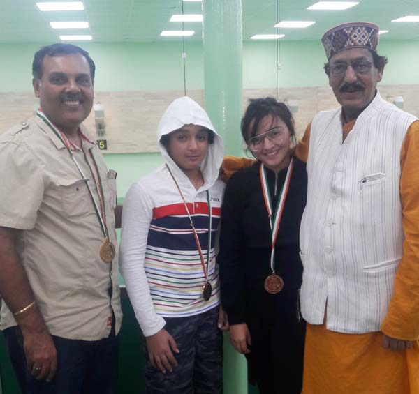 Jaspal Rana's Son Yuvraj and Daughter Devanshi Rana Clinched Gold Medal in Delhi
