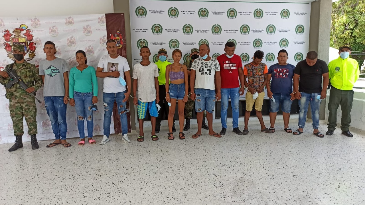 https://www.notasrosas.comPolicía Cesar captura a diez integrantes de los  'Los Camaleones', reconocido grupo delincuencial