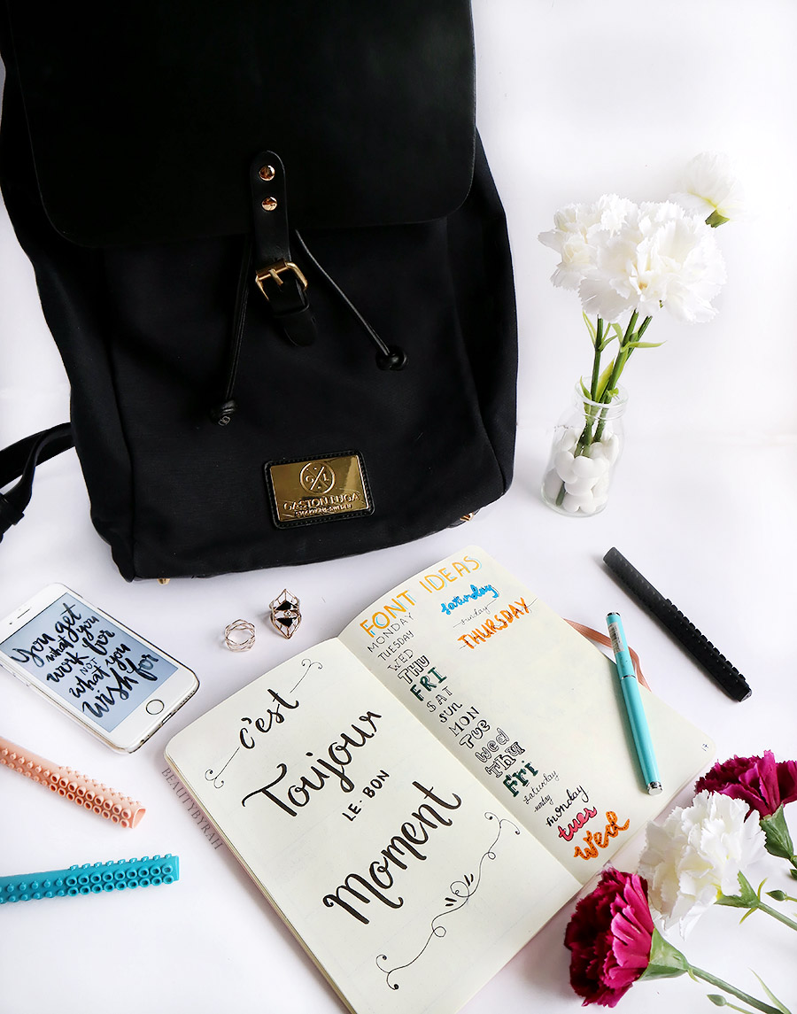 Gaston Luga Classy Black Backpack review