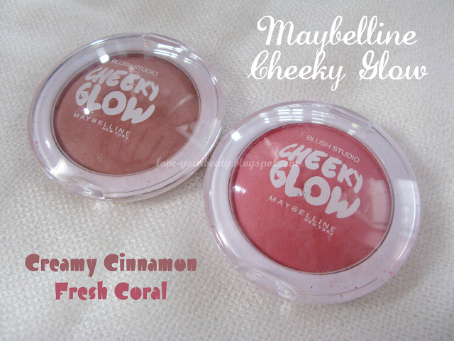 Review Maybelline Cheeky Glow Blush On