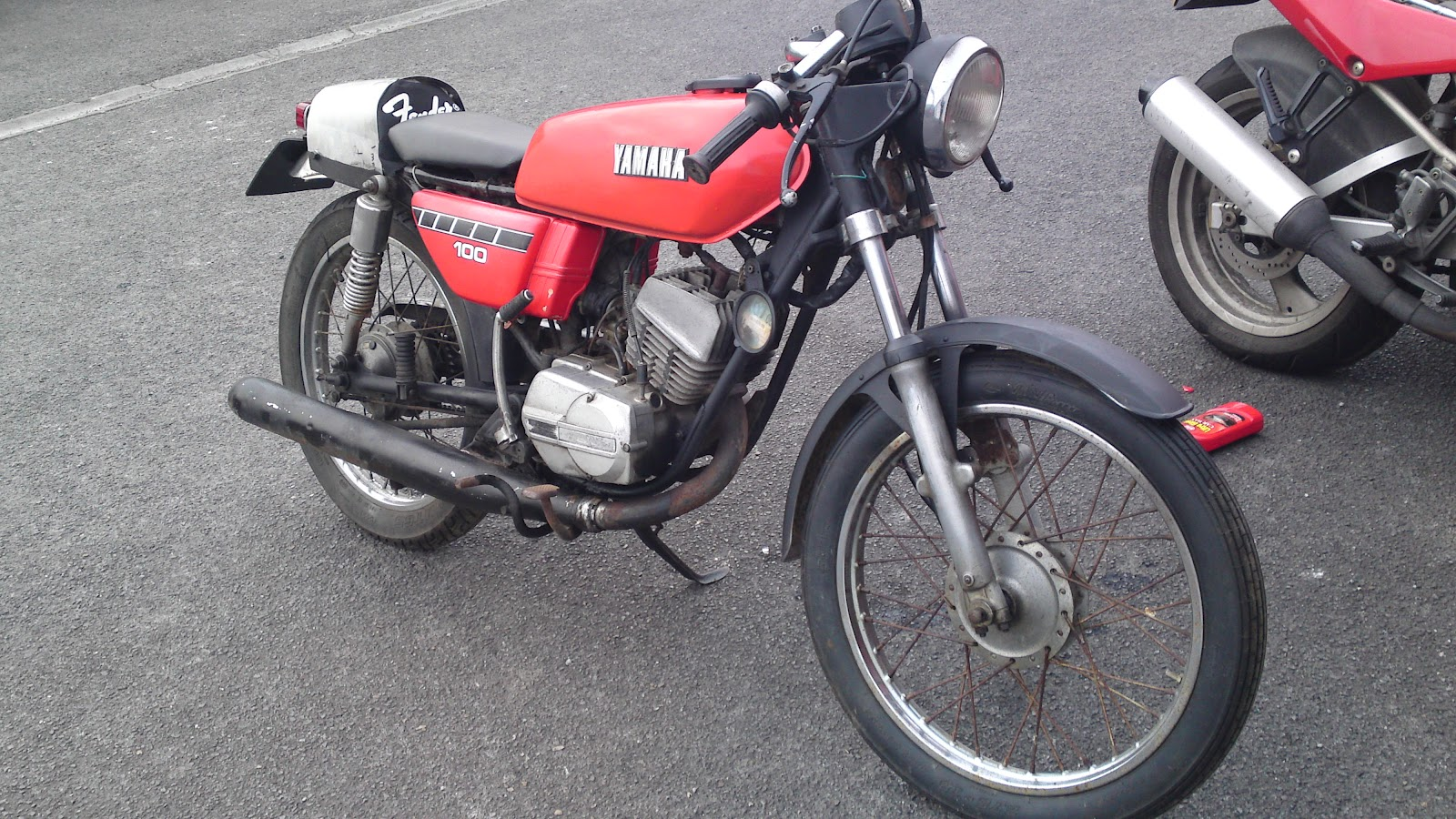 all the motor vehicles i have ever owned: zero-budget cafe racer