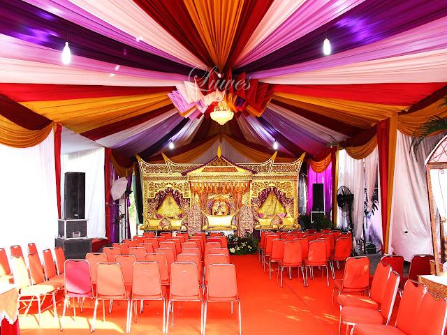Dekorasi tenda dan pelaminan pernikahan