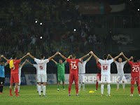 Pemain dan Fan Indonesia Tunjukkan Solidaritas Palestina