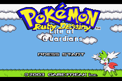 pokemon ruby destiny life of guardians cover