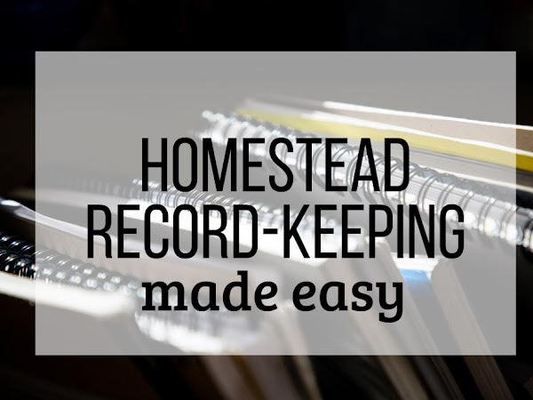 Homestead Record-Keeping Made Easy