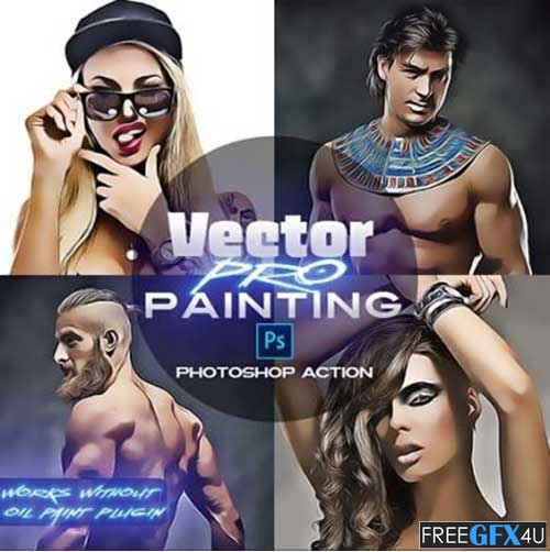 Vector PRO Painting Photo Effect