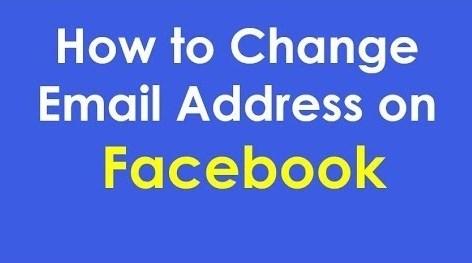 change email address on facebook