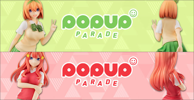 Go-Toubun no Hanayome - POP UP PARADE Yotsuba Nakano y Itsuki Nakano, Good Smile Company