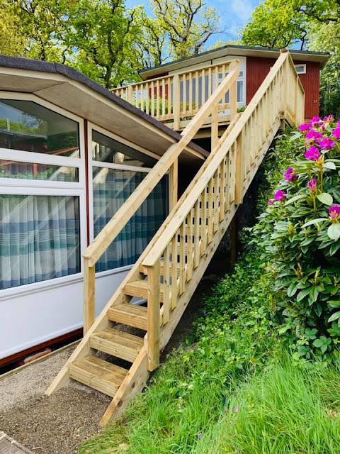 decking stair case