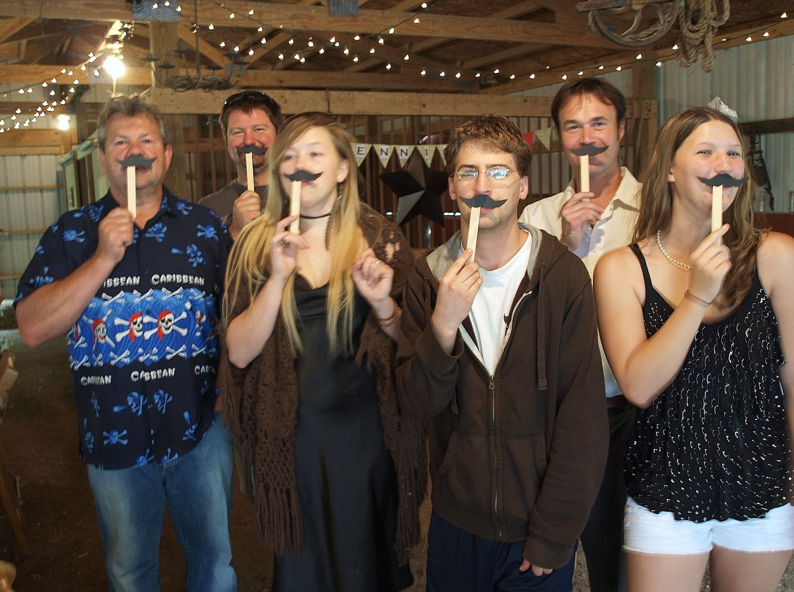 The Mustaches Were A Hit