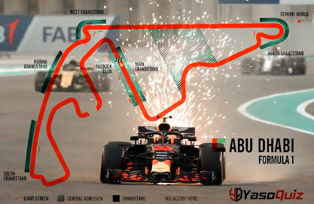 What time does the Abu Dhabi Grand Prix start? When does the Formula 1 race start?