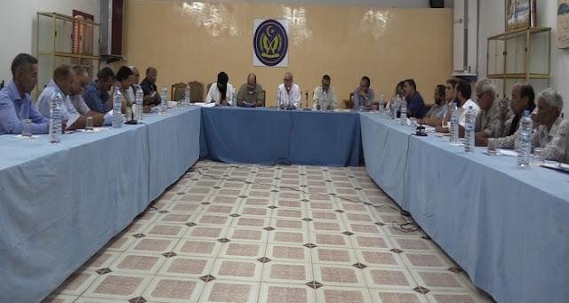 الرئيس ابراهيم غالي يؤكد على الدور الطلائعي للشباب والطلبة خلال اشرافه على اجتماع برنامج صائفة 2018