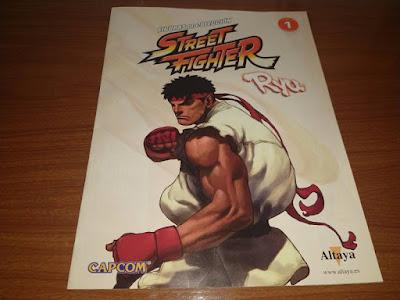 libro coleccion street fighter ryu