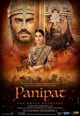 Panipat 2019 Hindi 480p WEB-DL 450MB