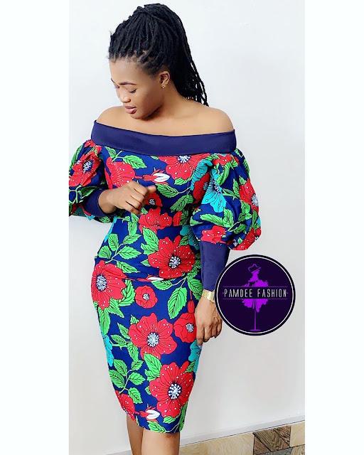 2019 Beautiful Slaying Ankara Gown Styles