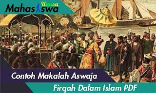 makalah aswaja firqah dalam agama islam