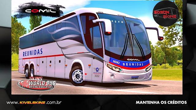 COMIL 1200 6X2 - VIAÇÃO REUNIDAS
