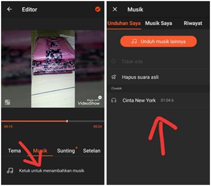 Cara Menggabungkan Foto dan Lagu Menjadi Video