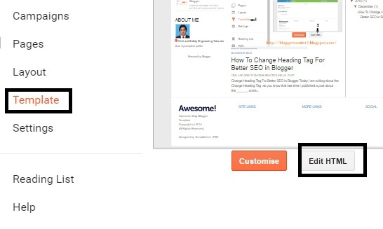 Change Default Title Tag on Blogger for SEO