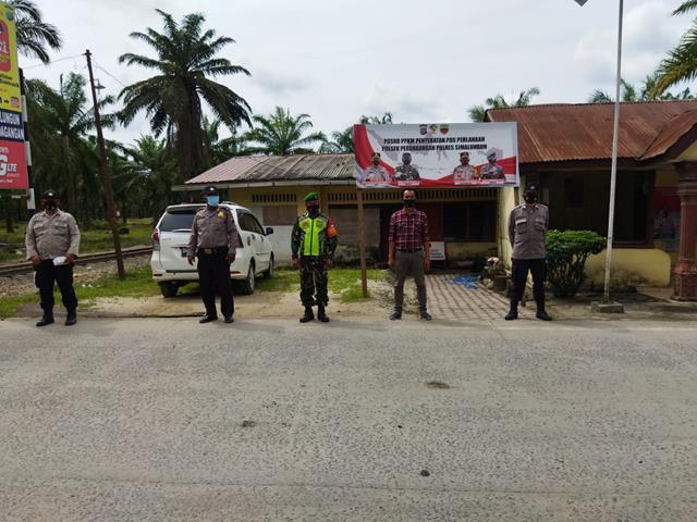 Tegas Dalam Tugas Pam Operasi Aman Nusa II Bersama Dinas Terkait Dilakukan Personel Jajaran Kodim 0207/Simalungun