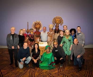The Lion King celebrates a landmark 22 years on Broadway today, Wednesday, November 13.