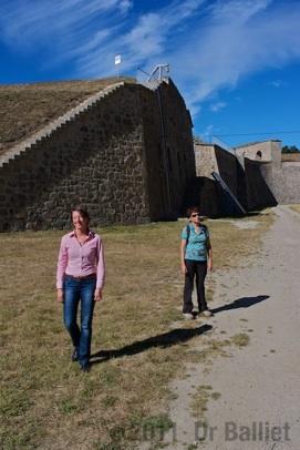 Place forte de Mont-Louis. Citadelle
