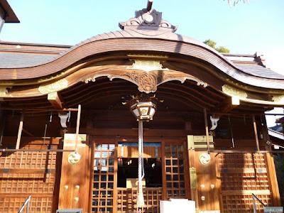若宮八幡大神宮拝殿