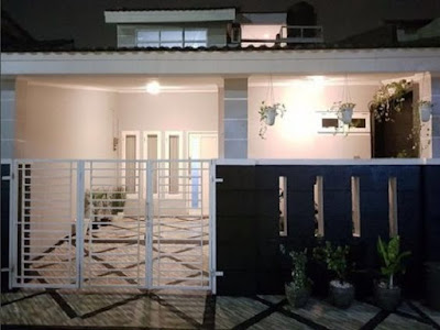 55 Desain Pagar Rumah Minimalis Paling Disukai - Ilmumenara