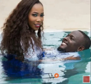 This Nigerian Couple Decided to Take Their Pre-Wedding Photos... Under Water!!! (PICS)