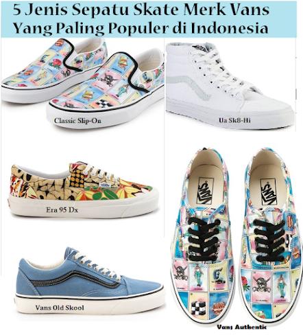 Sepatu-Skate-Merk-Vans-Yang-Paling-Populer