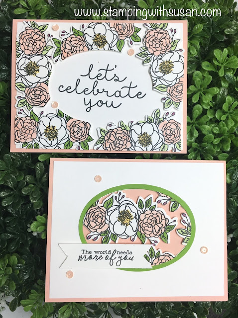 Stampin' Up!, Bloom & Grow, Floating Frame, www.stampingwithsusan.com