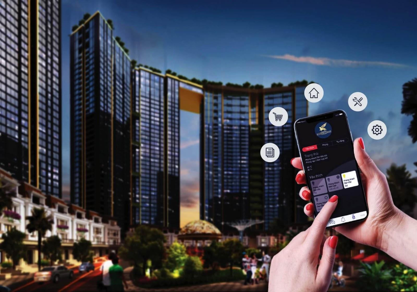 Sunshine Group ứng dụng nhiều công nghệ vào Bất động sản