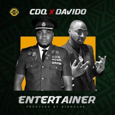 "(LG Music) CDQ – ""Entertainer"" ft Davido"