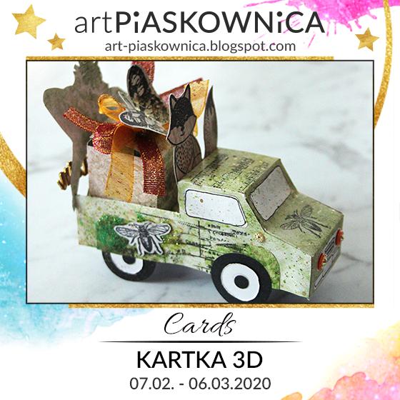 CARDS - kartka 3D
