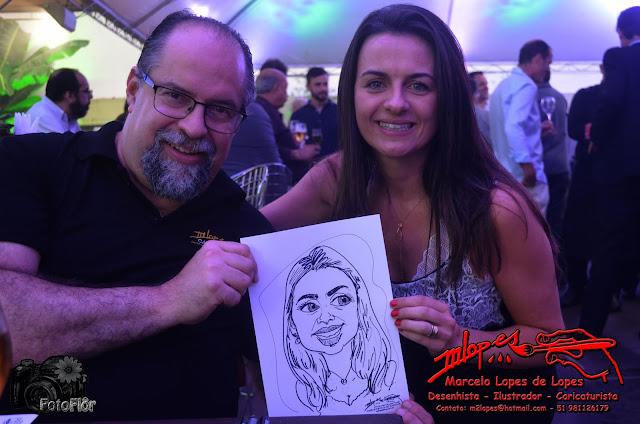 SETCERGS e o caricaturista Marcelo Lopes de Lopes