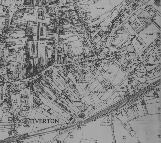 Map of Centre - 1966