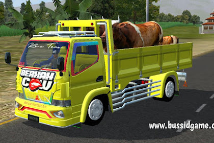 Mod Truck Canter Berkah Cow Angkut Sapi By RMC Creation