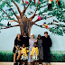 Madonna poses with all 6 of her children as they visit Malawi