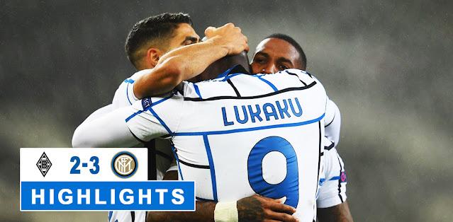 Borussia M'gladbach vs Inter – Highlights
